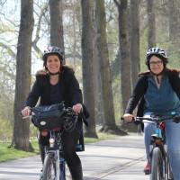 Verena Dietl, Fahrrad